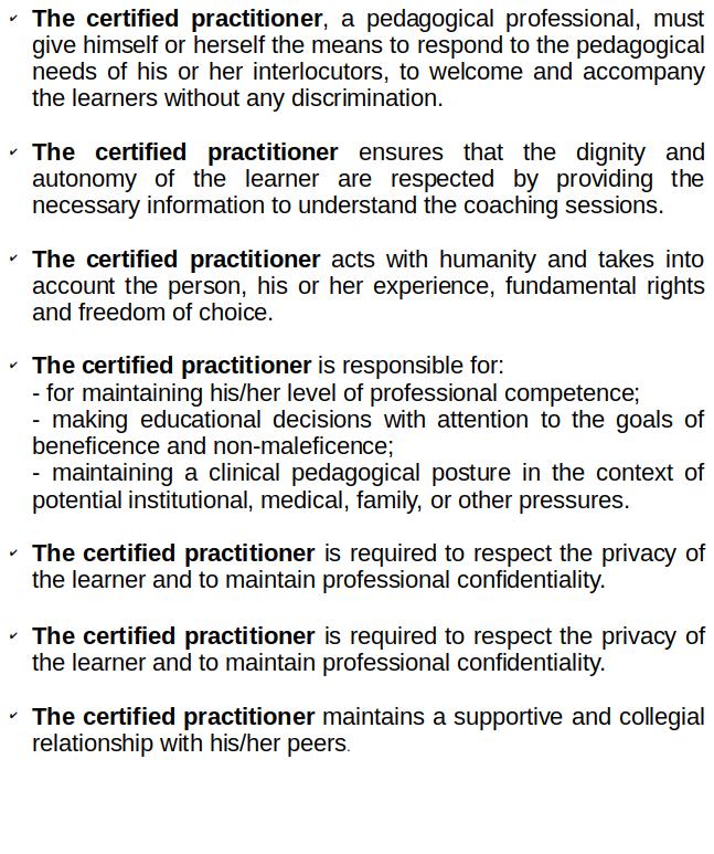 Madrasa Pedagogy code of ethics